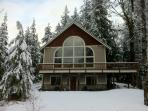 Mountain Chalet, WIFI, Hot Tub, Gated Community, Sleeps 6, Air Hockey Table
