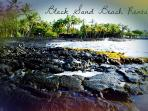 Black Sand Beach Rental