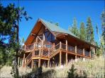 Custom-Built Log Home - Located on Three Acres of Land (5011)