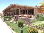 Just one of the restaurants at Sharks Bay Beach