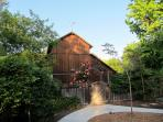 View of historic barn from the Country Home ~ wow!
