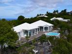 Very private and unique villa with wonderful views of Colombier WV BYZ