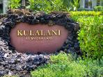 Gated Entrance to the Kulalani Complex