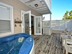 2-Story Condo w/ Pvt Hot Tub & Balcony