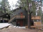 Coyote 19 - Large upper deck overlooking wooded setting