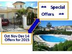 Quesada ***END of YEAR OFFERS & Discounts for 2015