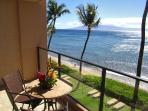 You can see up and down Ka'anapali Beach from your lanai