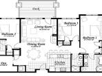 Emerald Lodge Floor Plan - 5102
