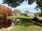 1199 - Beautiful Main House and Barn with a Pool and views over a Pond