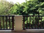 Green view from balcony