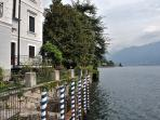 Situated in a prominent and breathtaking lake front position
