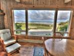 The view from the Beachwood Cottage