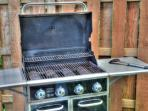 Grill your summer barbecue on our gas grill during your stay!