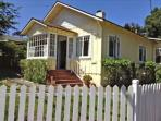 3584 Yellow Cottage by the Sea ~ Nautical Decor, Fireplace, Walk to Downtown