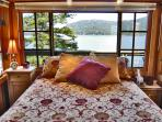 Isle Dream - Bed with a View !  More pictures on official website alldreamcottages