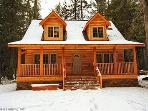 Glacier Springs Cabin #89 - Cedar and Log Cabin! Sleeps 4 - close to skiing and hiking at Mt. Baker!