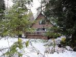 Glacier Springs Cabin #22 - Cozy cabin out door hot tub and it`s pet friendly! NOW HAS WIFI