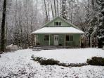 Mt. Baker Rim Cabin #71 - The House on a Knoll is pet friendly!