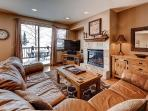 Enjoy relaxing next to the fireplace, with amazing veiws out your back window.