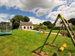 Detached child friendly cottage with large private garden close to Lake the Guerledan (Lac de Guerledan)