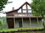 A beautiful lakefront vacation cabin on Norris Lake at Lone Mountain Shores.