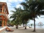 You're close to the Maya Beach Hotel & Bistro: that's their pier.