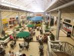 Shopping mall with modern supermarket, 5 minutes walk from Mangoes