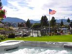 Tahoe Keys Waterfront~huge spa, dock in backyard