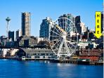 BOOK ONLINE! The Perfect Seattle Vacation Starts Here! 100 Walkscore,Pike Place STAY ALFRED HS2