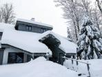 Go ski, get a massage, relax in the sauna, all in one place!
