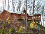 Shooting Star Ridge -- Cabin Rental Just Outside Cherokee with Hot Tub