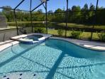 Private Jacuzzi and Pool