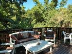 Another view for the decking. Lovely to have your barbecues/braais and be completely private