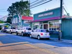 Makawao:  Our small town Cafe's and Restaurant, Makawao Steak House, Polle's, Kamoda's, and shopping