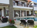 Huge 6 bed luxury family villa with pool fence