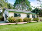 Pet-friendly home w/private hot tub; sand dune access