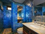 Custom tiled bathroom
