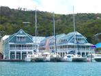 Sitting on the Dock of the Bay - St.Lucia