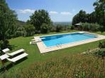 Charming Tuscan Villa with private pool and garden, stunning valley views!