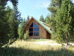 Standing Pine sits on 10 acres of privacy.