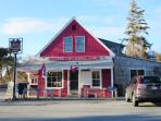 less than 2 miles away you will find the general store offering coffee - bagels - sandwiches and even a burrito bar...