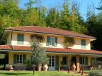 Villa with pool and park on the hills near 5 Terre