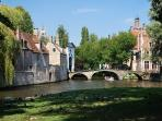 The Famous canals and Reason why Bruges was dubbed ' the venic of the North'