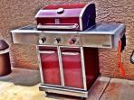 Cook up some juicy steaks on a brand new premium Kenmore Elite BBQ grill!
