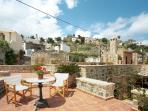 Stunning, 3-bedroom country house in Anatoli, Crete, with rooftop terrace and panoramic views