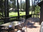#130 SEQUOIA Mountain decor, on the golf course $200.00-$235.00 BASED ON FOUR PEOPLE OCCUPANCY AND NUMBER OF NIGHTS (plus county tax, SDI, and processing fee)