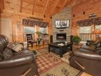 'Away at Sha-Kon-O-Hey' Luxury Pigeon Forge Cabin