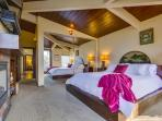 Mast Bedroom # 1 has King Bed with Oceanviews and large Ensuite Bath