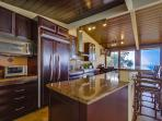 Chef's Kitchen with every major Appliance and Even Two Refrigerators for those Large  Groups