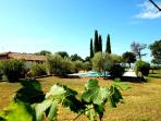 Detached villa with private pool villages at 1-2km